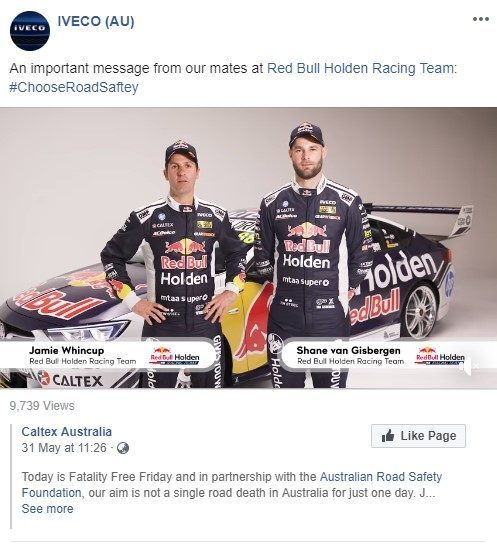 Jamie Whincup And Shane van Gisbergen Red Bull