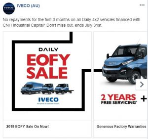 Iveco Daily Promotional-Advertisement Example